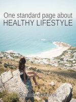 One standard page about healthy lifestyle